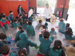 Investigacion Programa Ciencia para niños Santiago