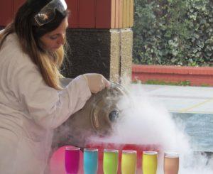 Santiago Programa Ciencia para niños