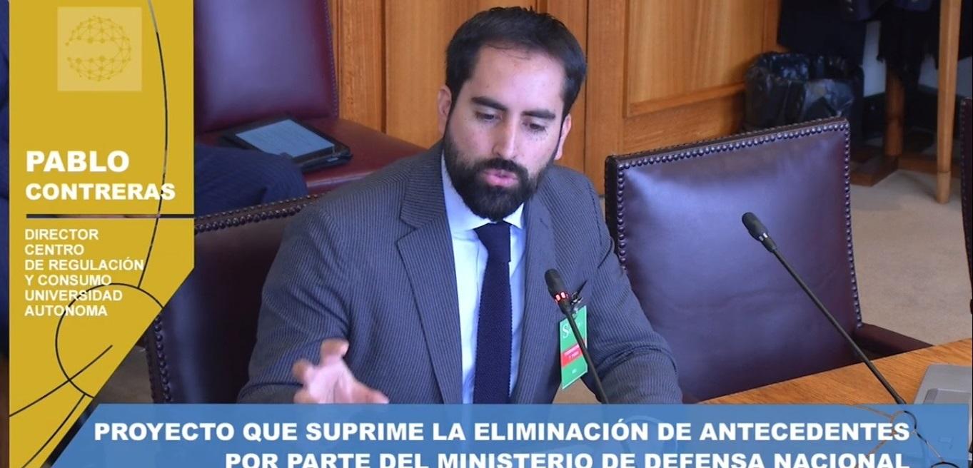 Investigador de Derecho UA expuso en Comisión de Educación del Senado