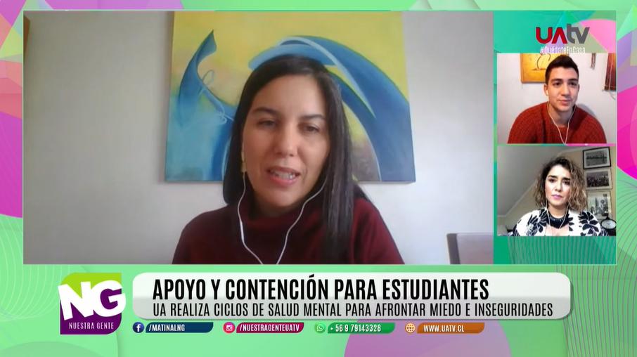 Clínica Psicológica lidera ciclo de charlas sobre salud mental para estudiantes de La Araucanía