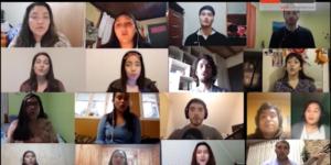 Coro U. Autónoma comparte repertorio desde casa