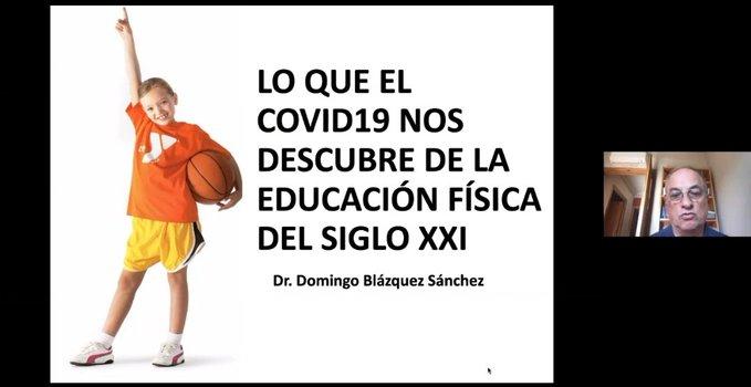 Académicos de Chile y España analizaron el rol de la educación física en tiempos de crisis
