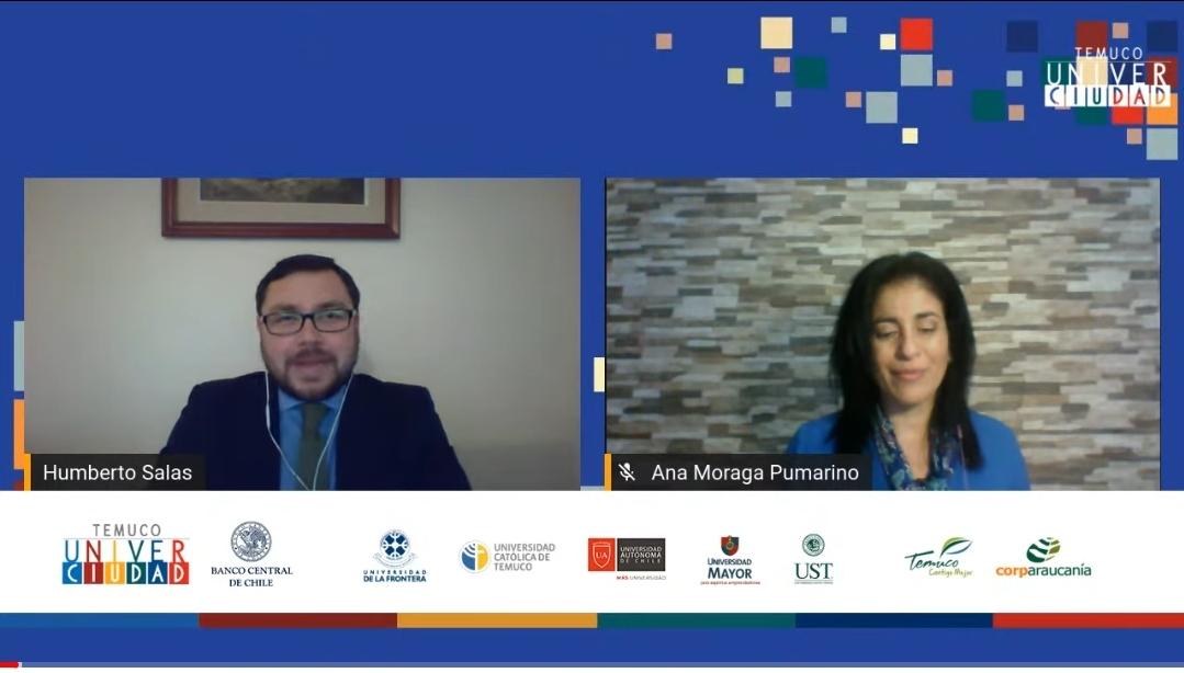 Vicedecano Humberto Salas participó en presentación de IPoM junto a Banco Central y Temuco Univerciudad