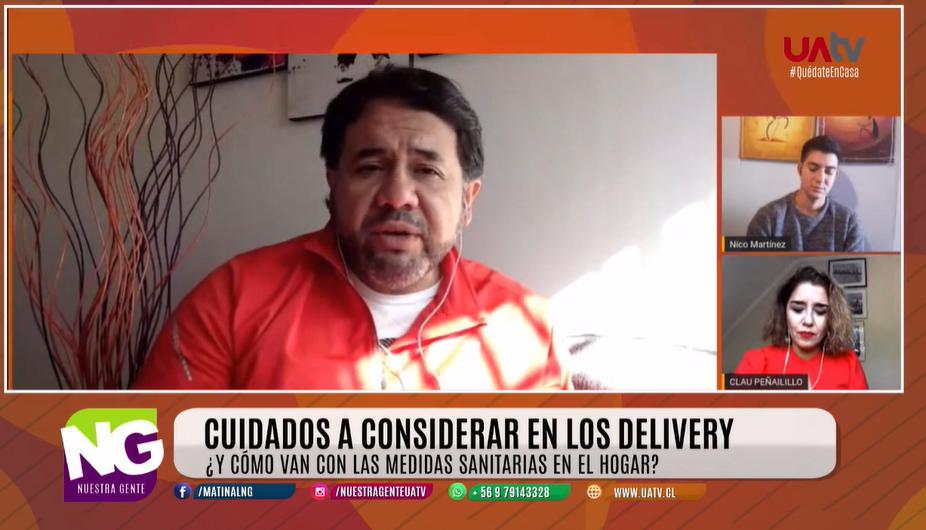 Aumento de delivery en la región: Académico UA entrega recomendaciones sanitarias para evitar contagio de covid-19