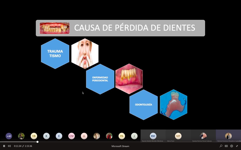 Odontología realiza charla sobre hábitos higiénicos en cuarentena