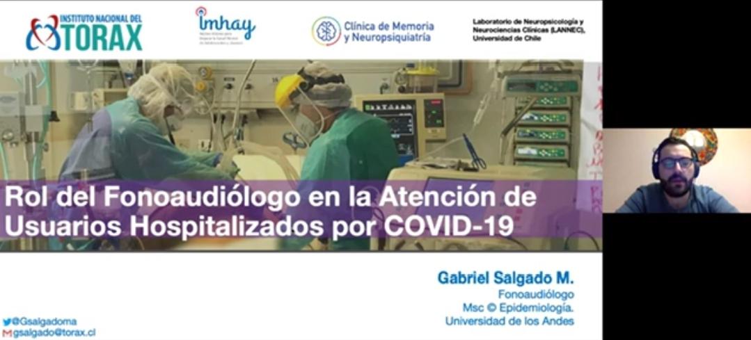 ¿Cuál es el rol de un fonoaudiólogo en la atención a pacientes hospitalizados por Covid-19?