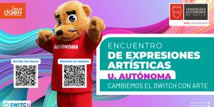 ENCUENTRO DE EXPRESIONES ARTÍSTICAS: Cambiemos el Switch con Arte