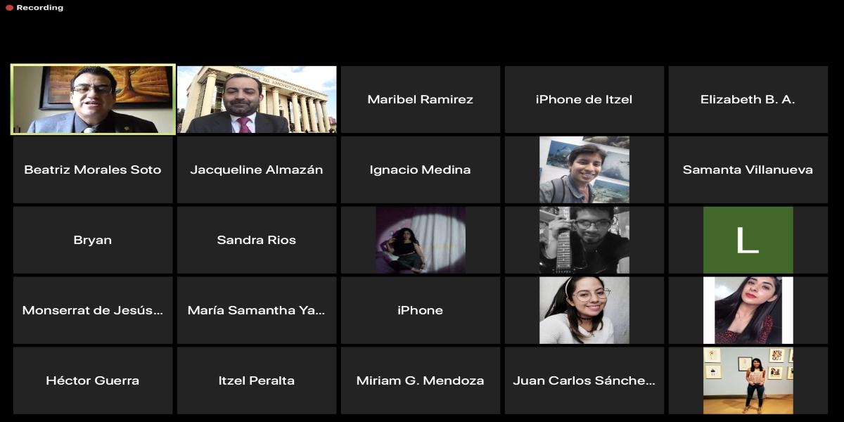 Académico del Instituto de Ciencias Químicas Aplicadas dictó Conferencia Inaugural en la Universidad Autónoma del Estado de México
