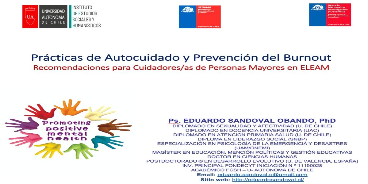 Investigador de la Autónoma realiza Capacitación para Profesionales de Centros ELEAM – SENAMA