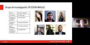 Con seminario internacional U. Autónoma inaugura grupo de investigación IP-COVID-Maule
