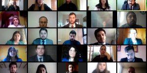 Estudiantes de Derecho visitan el 4º Juzgado de Letras de Talca
