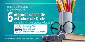 U. Autónoma se posiciona dentro de las seis mejores universidades chilenas según Ranking Best Global Universities 2021