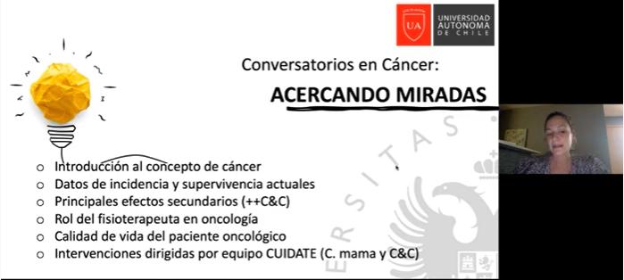 """Expertos dan cierre al ciclo de conversaciones sobre cáncer  """"Acercando Miradas"""""""