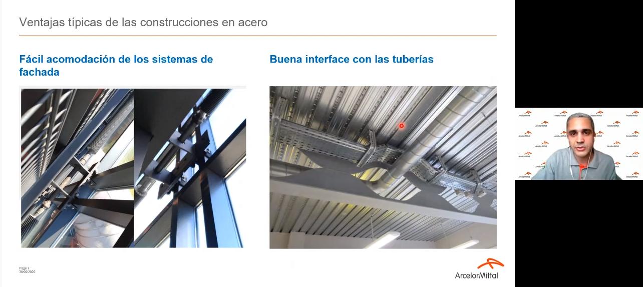 """""""El Acero en la Construcción Industrializada"""": Ciclo de charlas de nivel mundial"""