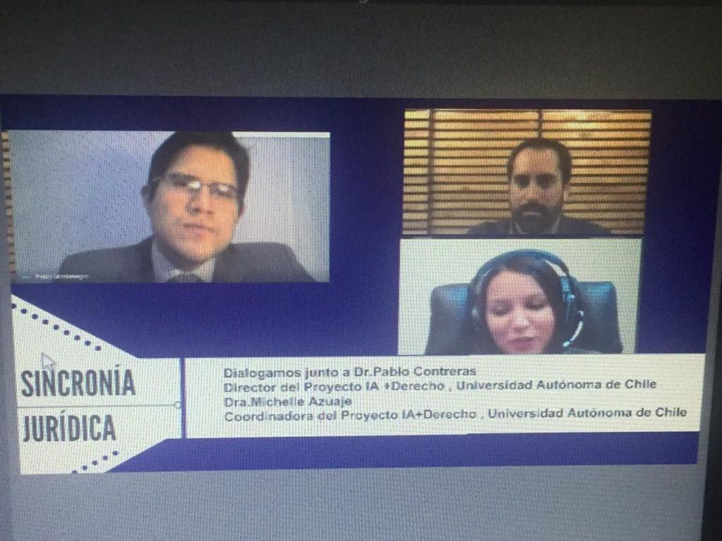 Profesores Contreras y Azuaje fueron entrevistados en Radio Universal Ecuador