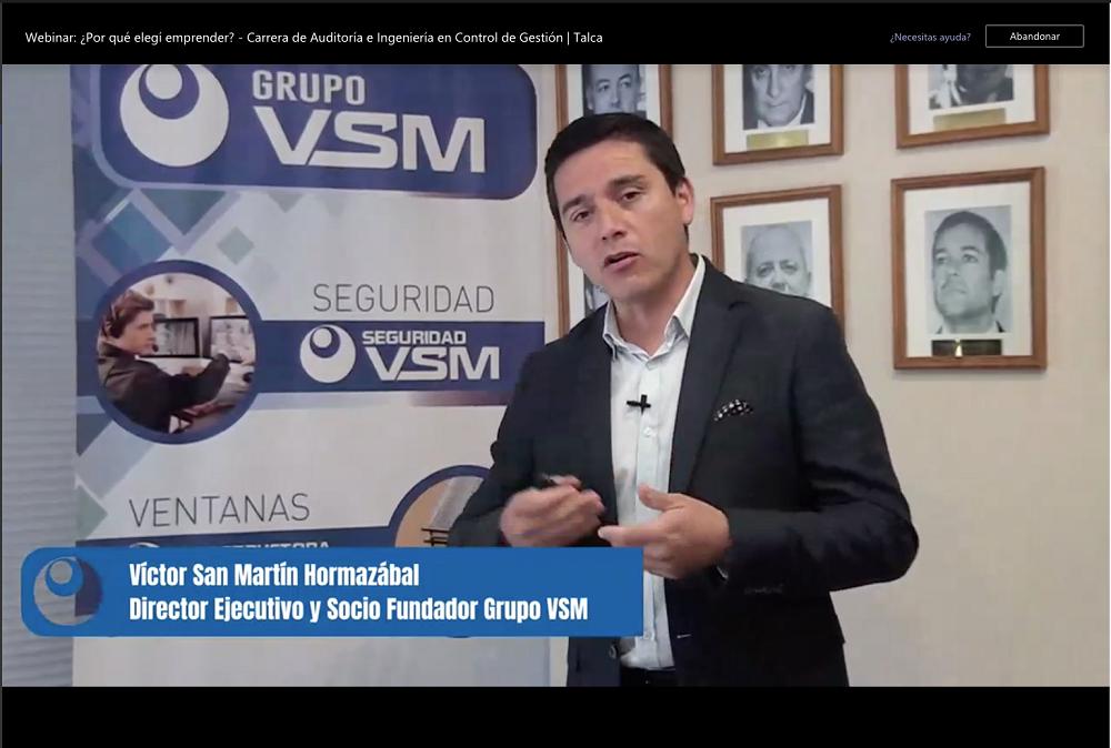 """""""Sí se puede emprender"""" es el mensaje entregado en webinar organizado por U. Autónoma"""