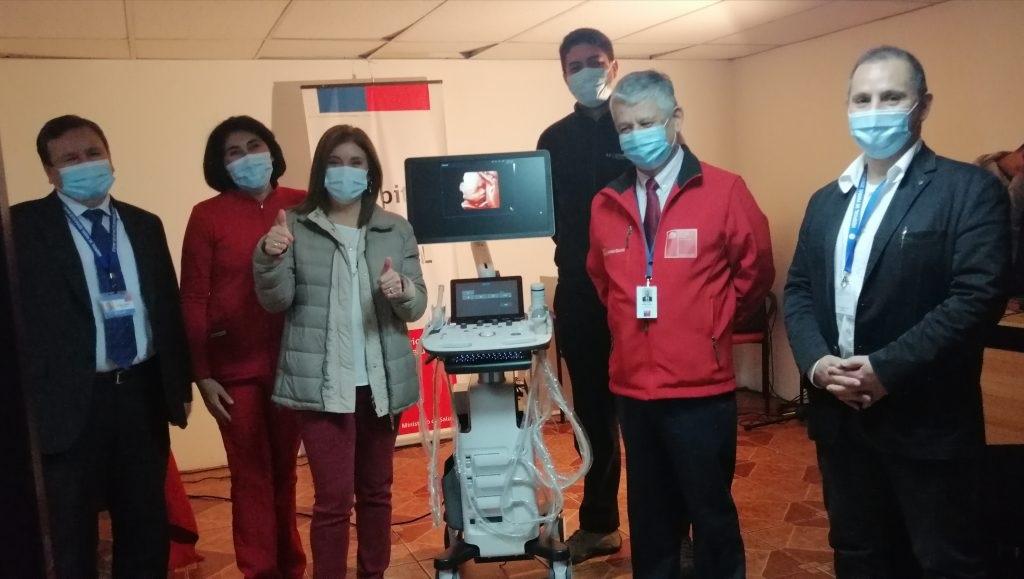 Hospital de Parral recibe ecotomógrafo como parte de convenio entre SSM y U. Autónoma