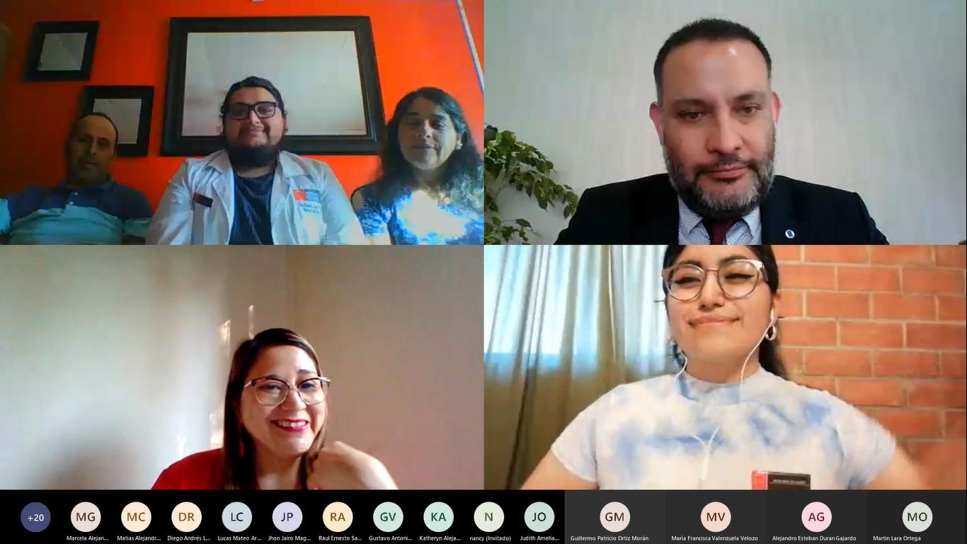 Pedagogía en Historia de la U. Autónoma realiza Ceremonia de Investidura online
