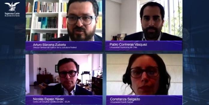 Investigador presentó su nueva publicación colectiva en Feria Internacional del Libro Jurídico de México