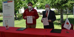 U. Autónoma y SENDA Maule firman convenio con el objetivo de fomentar la cultura de la prevención