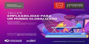 Dirección de Relaciones Internacionales organizó Taller de Empleabilidad para alumnos