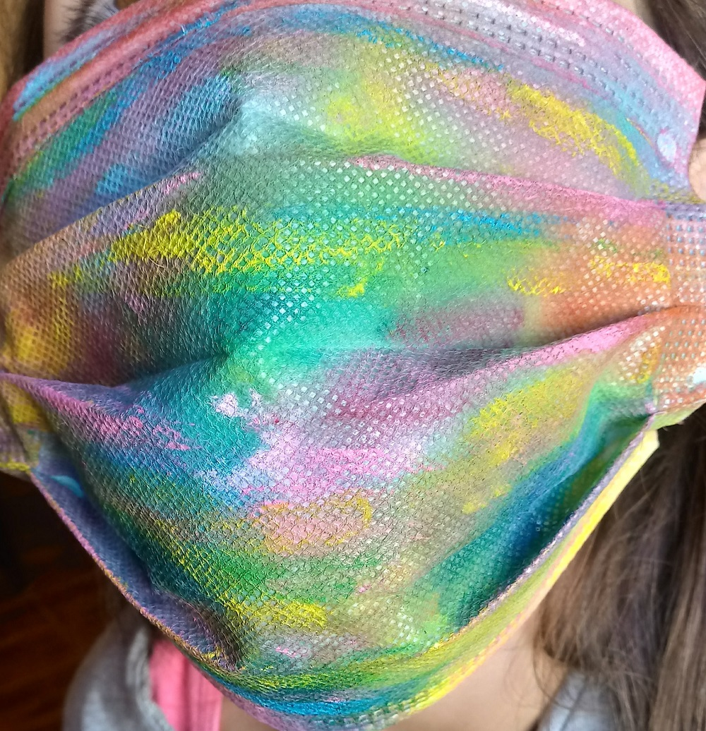 U. Autónoma potencia el arte a través de la intervención en mascarillas