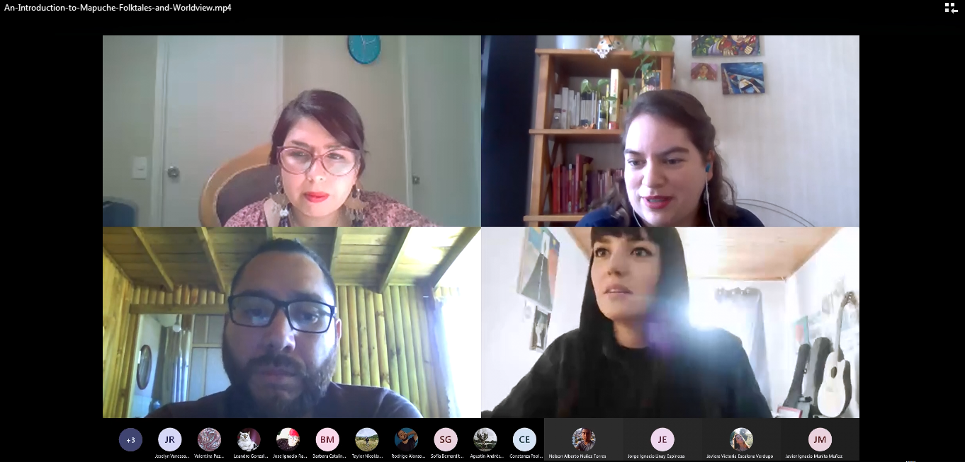 Pedagogía de U. Autónoma adaptará cuentos mapuche al inglés