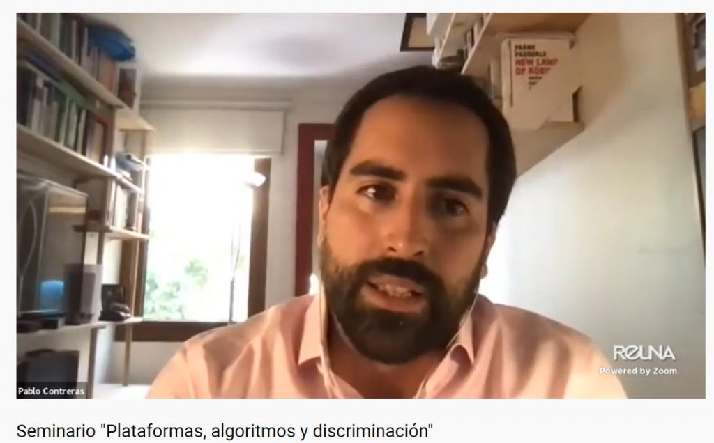 Plataformas, algoritmos y discriminación: nuevo seminario del proyecto Fondecyt Trabajo en Plataformas
