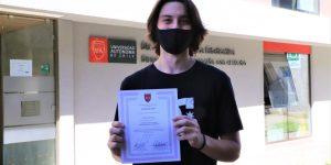 Premian a estudiantes ganadores del concurso «Construyendo obras de Da Vinci»