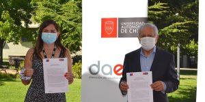 U. Autónoma e Injuv ratifican compromiso con los jóvenes del Maule