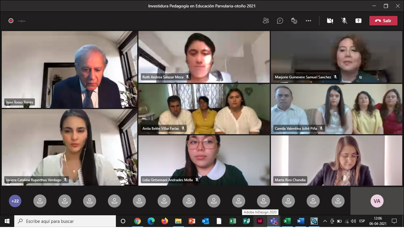 U. Autónoma inviste a futuras educadoras de párvulos con mirada en fortalecer aprendizajes pertinentes y oportuno