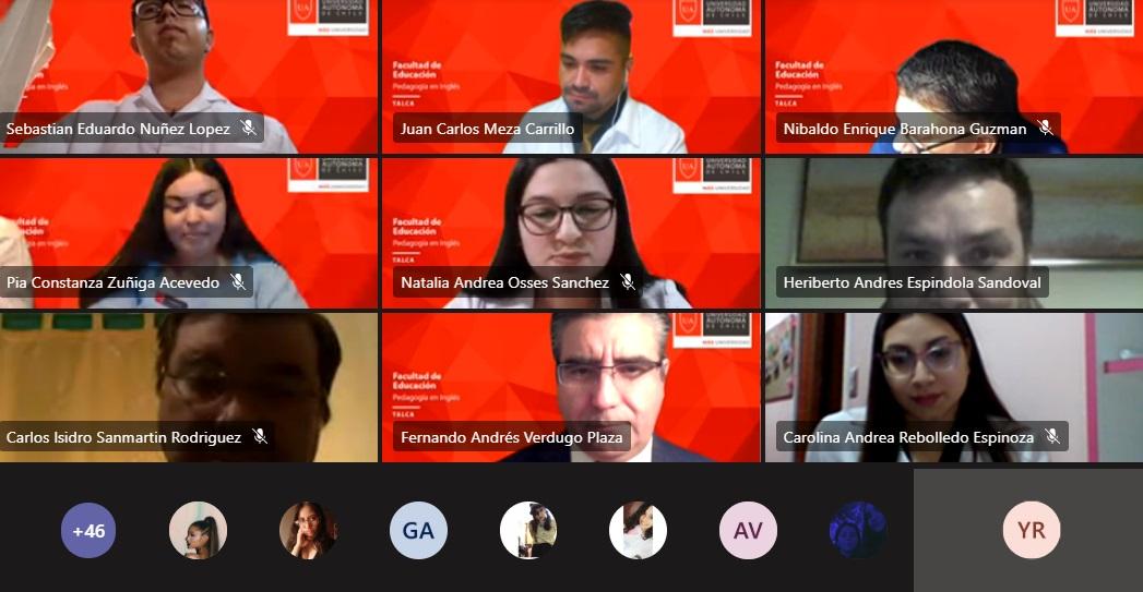 Estudiantes de Pedagogía en Inglés de la Universidad Autónoma inician sus prácticas profesionales