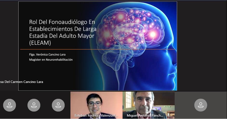 U. Autónoma analiza el rol del fonoaudiólogo en Establecimientos de Estadía para Adultos Mayores