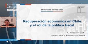 Ministro de Hacienda: «Saldremos de la crisis económica, con una mochila más grande, pero mejor que otros países de la región»