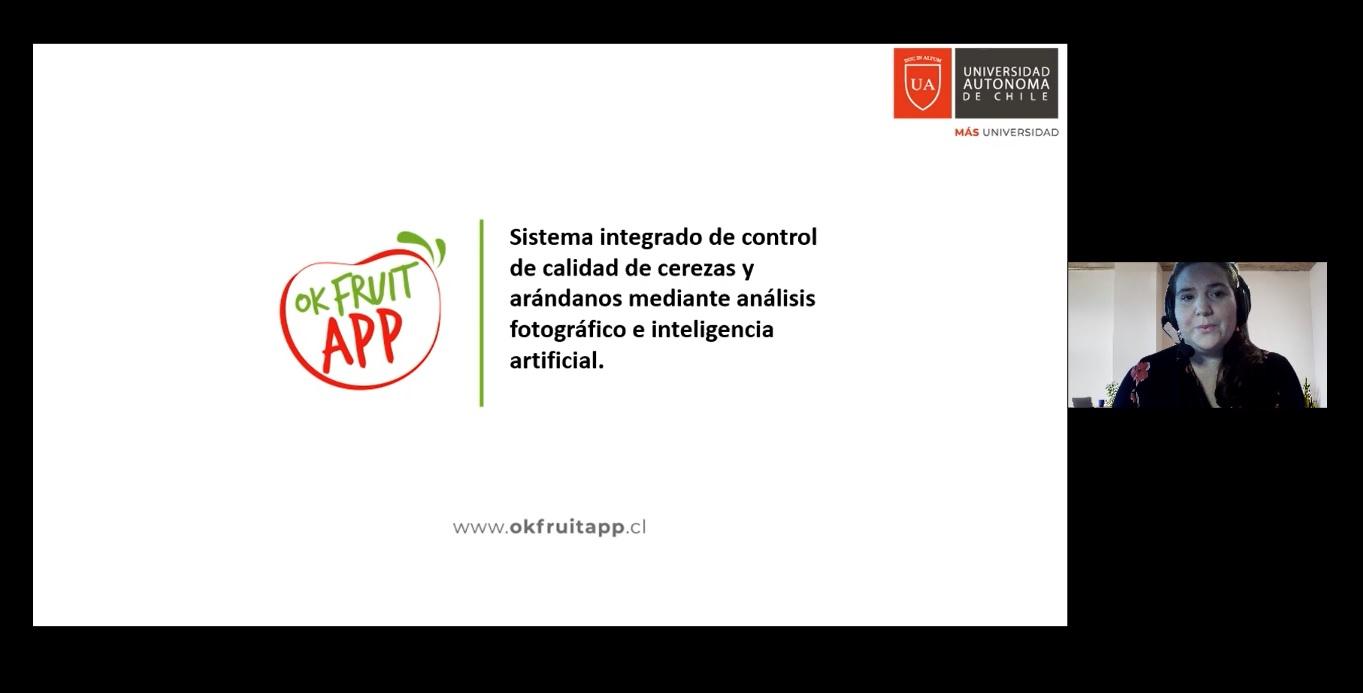 Exportaciones frutícolas del Maule podrán beneficiarse con aplicación diseñada por la Universidad Autónoma