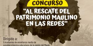 """U. Autónoma abre concurso """"Al rescate del patrimonio maulino en las redes"""""""