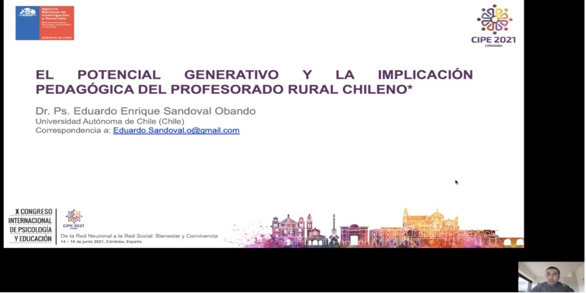 Investigador de la U. Autónoma participa en congresos internacionales