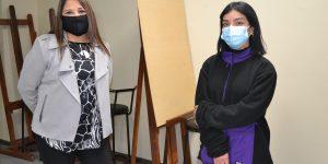 Estudiante de la U. Autónoma expone sus obras en Sala de Arte CC