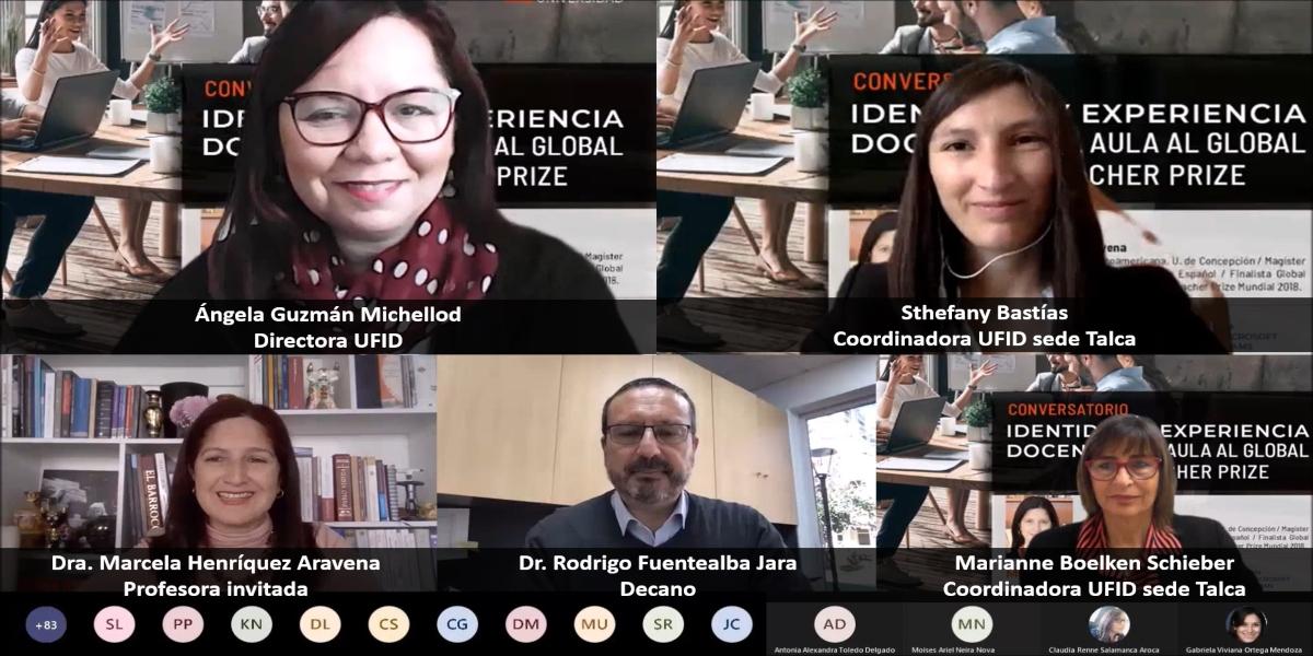 Unidad de Formación Inicial Docente realizó conversatorios sobre identidad y rol docente