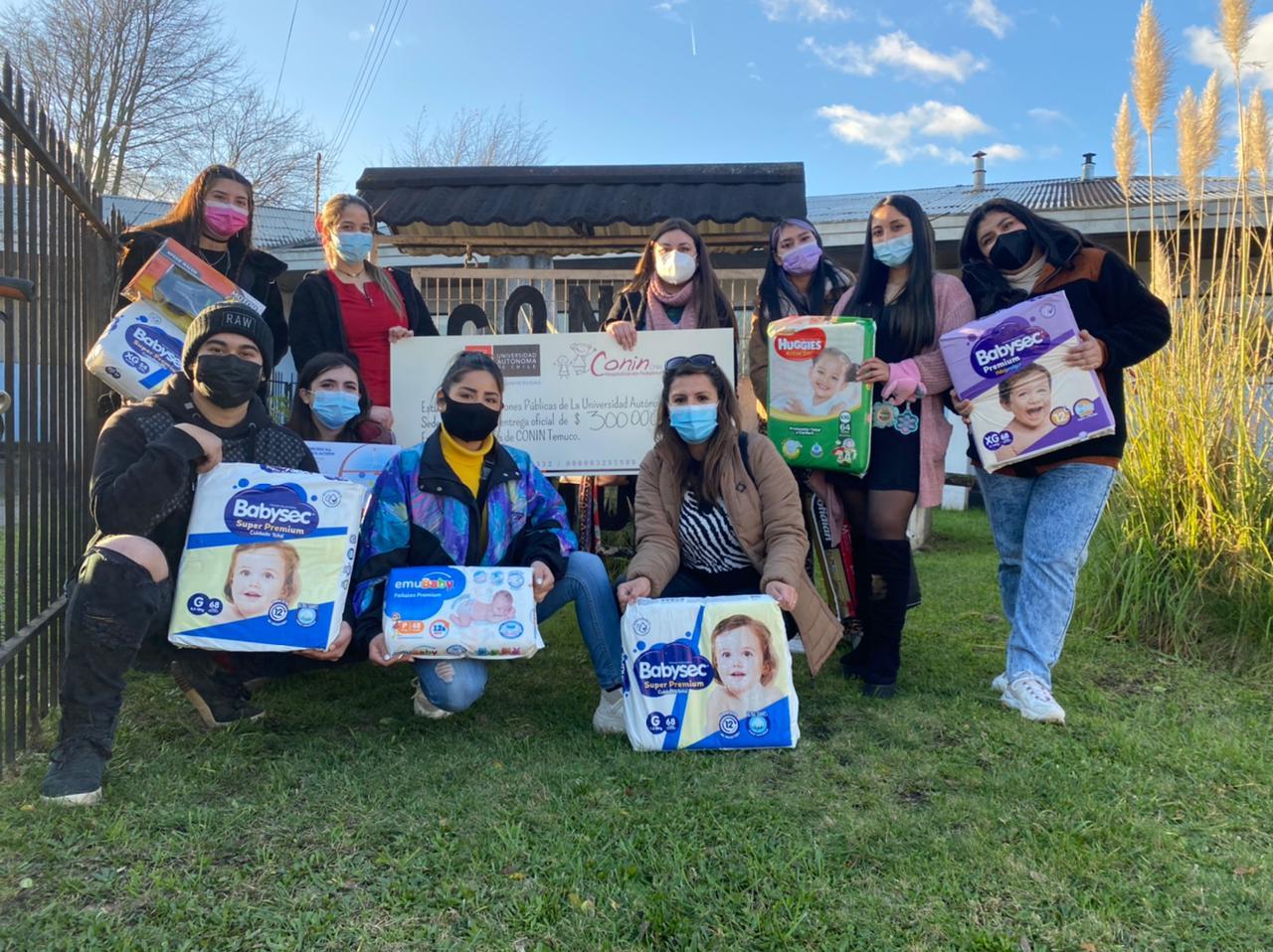 ¡Cumplimos! Conin y U. Autónoma cierran exitosa campaña de recolección de fondos y artículos para niños y niñas