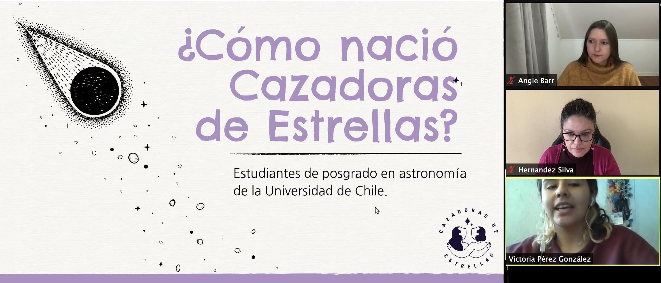 Dra. Angie Barr participó en primer Congreso Nacional de Educación Astronómica