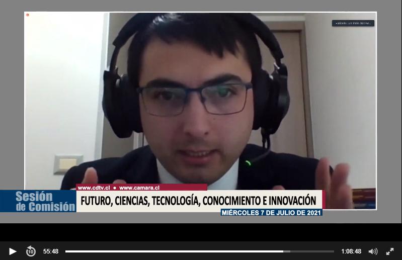 Dr. Juan Pablo Díaz Fuenzalida es invitado como experto a Comisión sobre reforma constitucional de los nuevos Neuroderechos