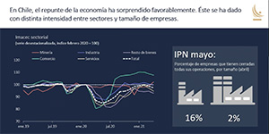 Consejera del Banco Central de Chile dictó charla donde analizó los detalles del más reciente Informe de Política Monetaria