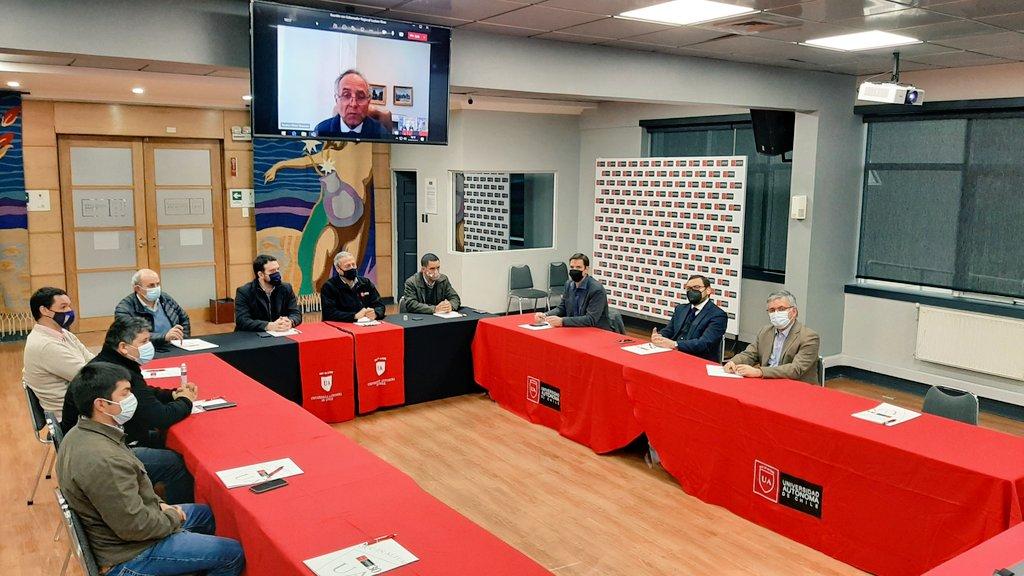 Autoridades universitarias se reúnen con Gobernador Regional y alcaldes electos